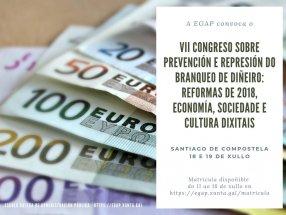 VII Congreso sobre prevención e represión do branqueo de diñeiro